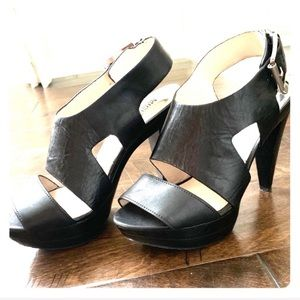 Michael Kors Black Platform Sandal size 7